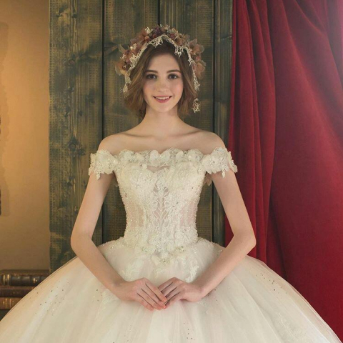 "Sweetie ""Alina"" for Wedding dress"